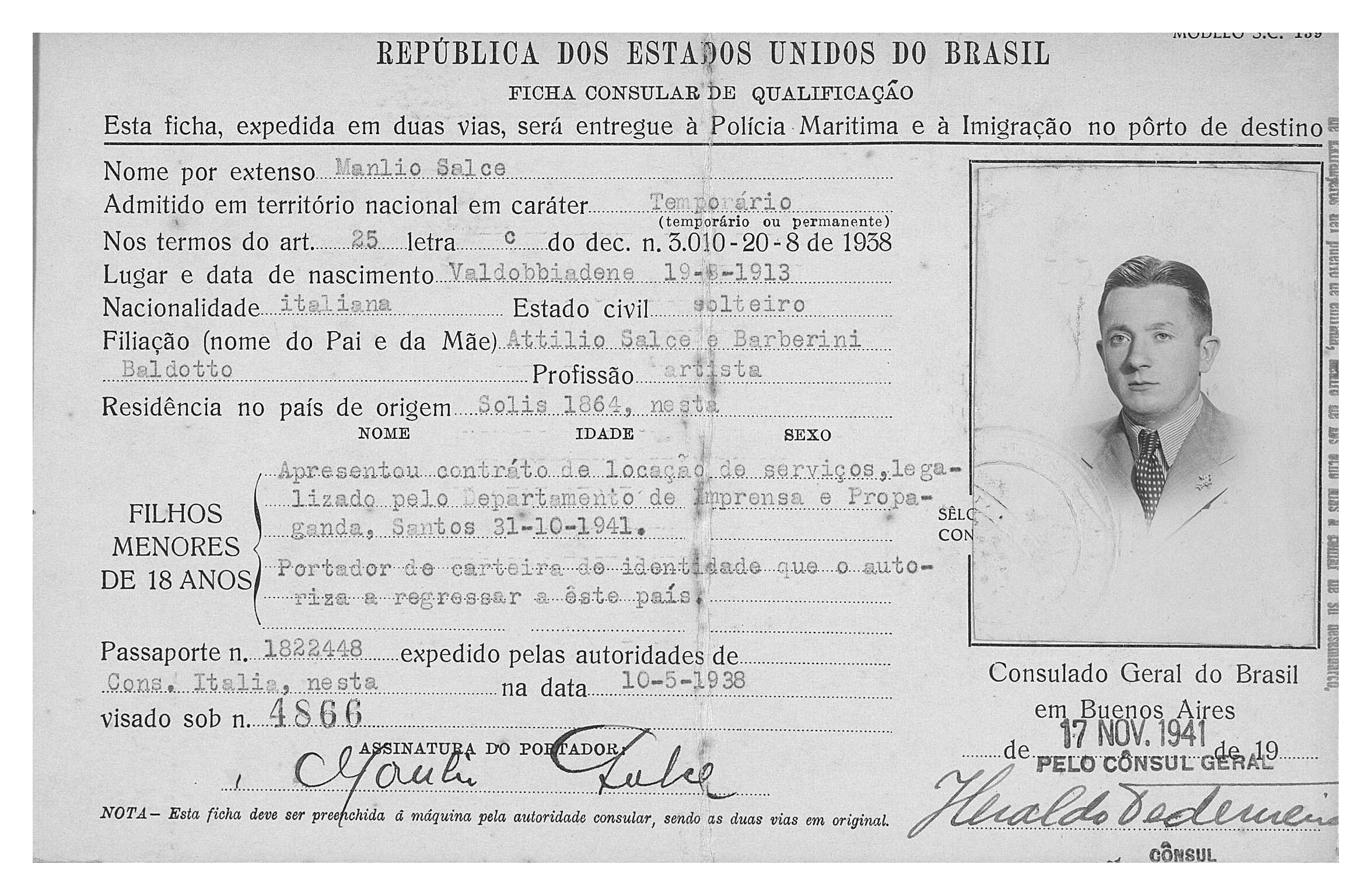 1941-11 - ficha consular - RJ - 01 copy